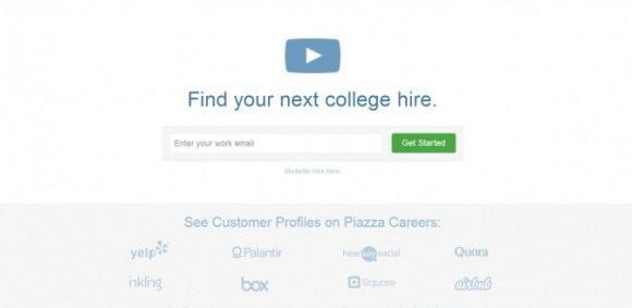 Image for HEDLINE: Piazza launches Piazza Careers – announces $8 million Series B