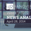 Image for Hanover Research's Weekly K-12 News Analysis- 4.28.2014