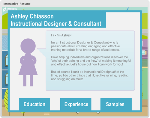 e learning challenge creative resume templates for e learning portfolios e learning feeds