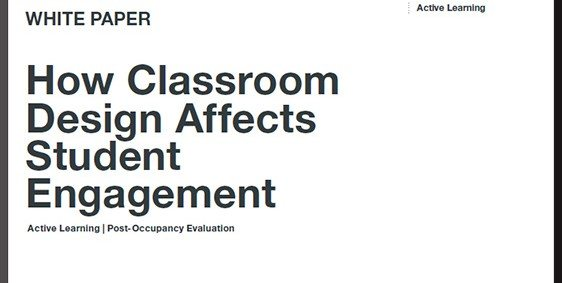 How Classroom Design Affects Student Engagement ~ Solid items on the maker movement in education — from