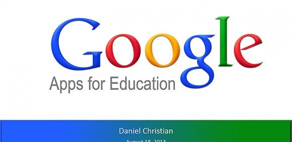 Image for My presentation re: Google Apps for Education — and some misc resources [Daniel Christian]