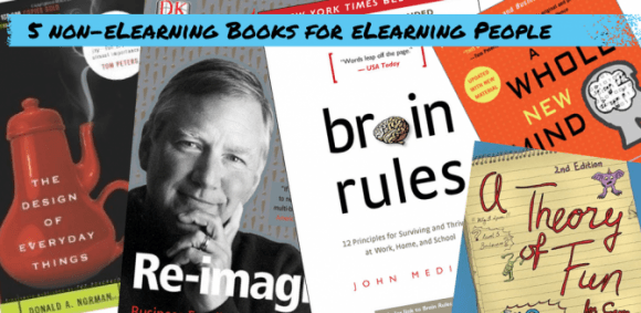 Image for 5 Non-eLearning Books for eLearning Professionals