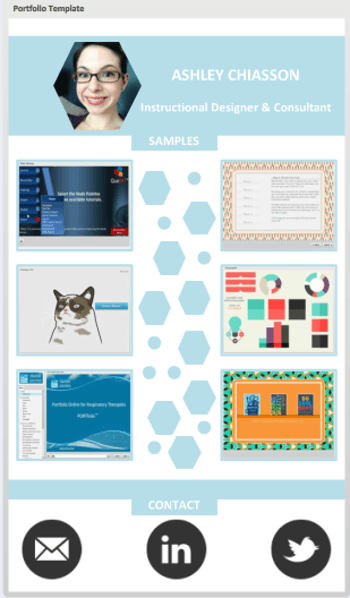 Free portfolio template for articulate storyline e for E portfolio templates free