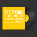 Image for Do Listening Styles Matter in Online Learning?