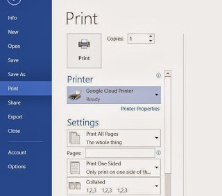 how to set up cloud printing on iphone