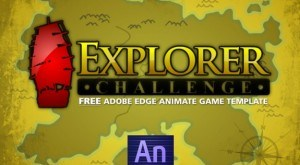 Image for Free eLearning Game Template for Edge Animate