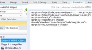 Image for Using jQuery and Lectora to Customize Your e-Learning Courses: Part 4
