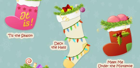 christmas idioms and phrases infographic - Christmas Idioms