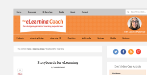 Image for 5 elearning experts share their storyboarding ideas to help you create more effective elearning