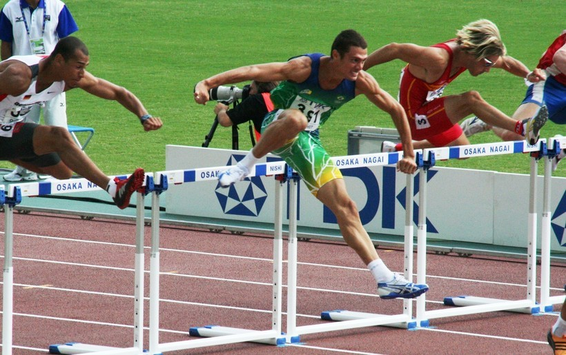 the day i overcame the hurdles to be champion
