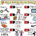 Image for The 12 Ways to Recharge Over the Holidays Infographic