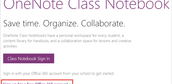 Image for Teachers, invite your students to OneNote Class Notebook and get them free Office 365