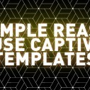 Image for A Simple Reason to Use Captivate Templates