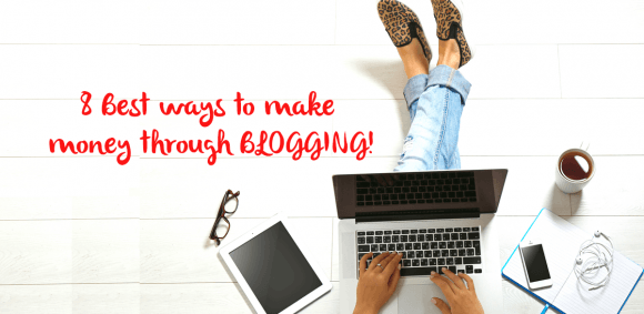 Image for LET YOUR BLOGS BRING HOME THE BACON: EARN MONEY THROUGH BLOGGING
