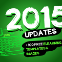 Image for 100 free eLearning templates and images + 2015 updates