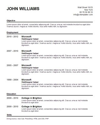 help make a resume - Pertamini.co