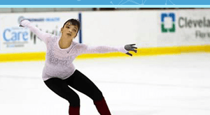Image for FLVS Student Succeeds Online and On the Ice