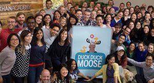 Image for Khan Academy Buys Children's App Developer, Duck Duck Moose, For $1 | EdSurge
