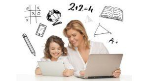 Image for Should parents also know how to use e-learning platforms?