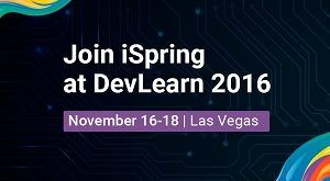 Image for Meet iSpring Key People at DevLearn 2016!