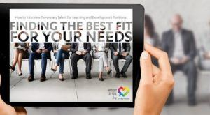 Image for Free eBook: How To Interview Temporary Talent For Learning And Development