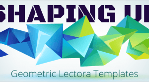 Image for Shaping Up: Geometric Lectora Templates