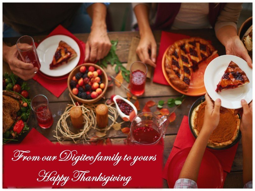 from our digitec family to yours happy thanksgiving e