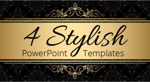 Image for 4 Stylish PowerPoint Templates