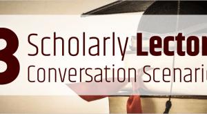 Image for 3 Scholarly Lectora Conversation Scenarios