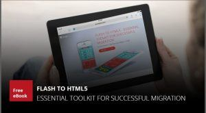 Image for Free eBook: Flash To HTML5 - Essential Toolkit For Successful Migration