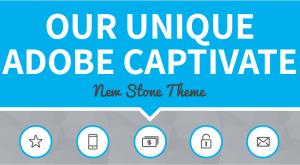Image for Our Unique Adobe Captivate New Stone Theme