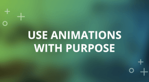 Image for Three Tips for Using Animations in E-Learning