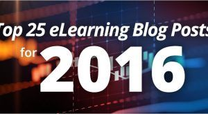 Image for Top 25 eLearning Blog Posts For 2016