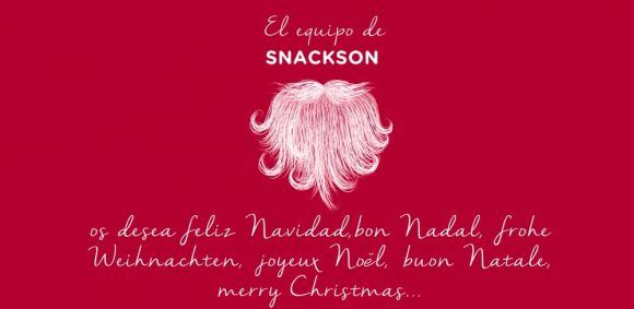 Image for The Snackson team wishes you a happy holiday season