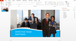 Image for How to Use the Selection Pane in PowerPoint