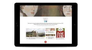"""Image for Open University's """"Which Brontë Sister?"""" Uses Elucidat's Simple Yet Powerful Quiz Page Type"""