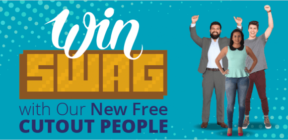 Image for Win Swag with Our New Free Cutout People