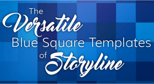 Image for The Versatile Blue Square Templates for Storyline