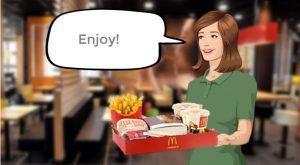 Image for Simulation of McDonald's Self-Order Kiosk