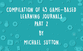 Image for COMPILATION OF 45 GAME-BASED LEARNING JOURNALS: PART 2