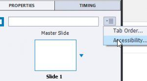 Image for Adobe Captivate: Accessibility Text