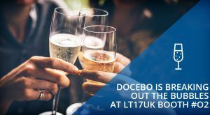 Image for Connect with Docebo at the Learning Technologies Conference: Booth O2
