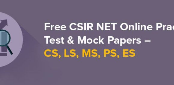 Free CSIR NET Online Practice Test & Mock Papers – CS, LS