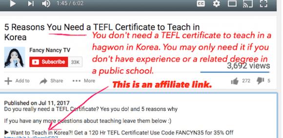 TEFL Course Affiliates - Lies, Bias & Ulterior Motives - e